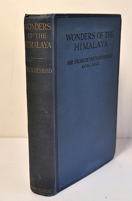 Younghusband, Sir Francis Edward; Wonders of the Himalaya. 1st edition, London, John Murray, 1924.