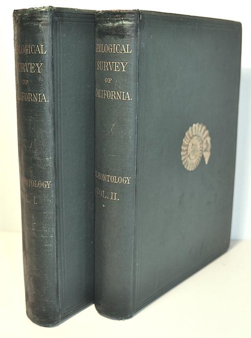 Meek, F. B. & Gabb, W. M.; Geological Survey of California. Paleontology, Vols. 1 & 2. Published by Authority of the Legislature of California, Sherman & Co. Philadelphia, 1864-1869.