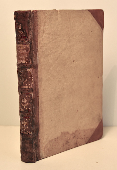 Hamilton, Sir William; Observations On Mount Vesuvius, Mount Etna, And Other Volcanos: 1773