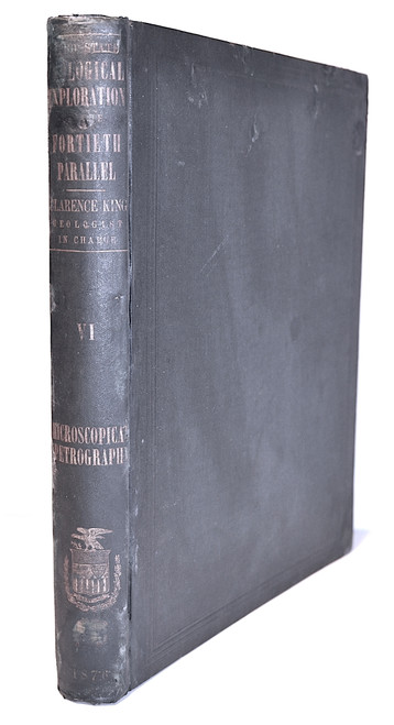 Zirkel, Ferdinand; Microscopical Petrography. Vol. VI, Report of the Geological Exploration of the Fortieth Parallel. Washington, GPO, 1876.