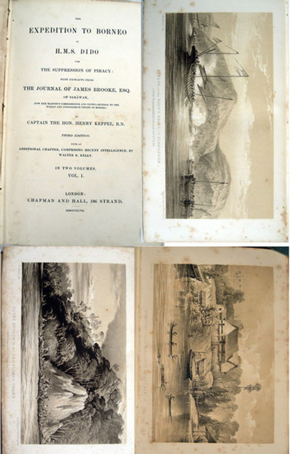 Book by Keppel, Capt. Henry; The Expedition to Borneo