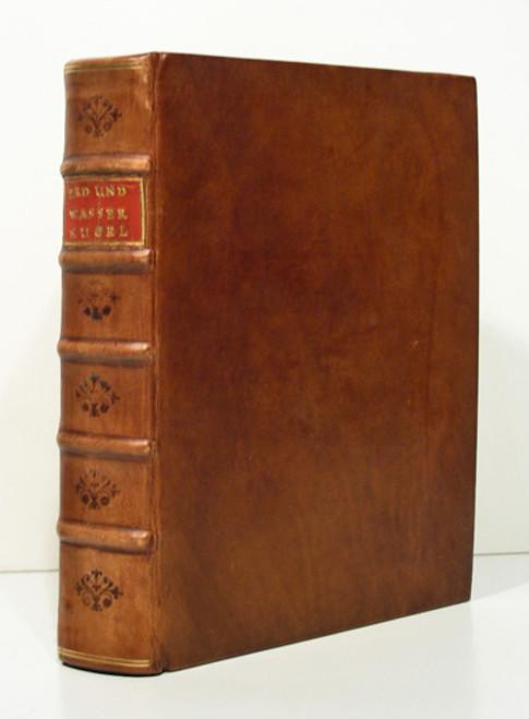 Rare Geology Paleontology Book by Buttner, David Sigismund August; Rudera Diluvii Testes, 1710.