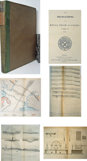 Rare Seismology Book, Mallet, Robert, Dynamics of Earthquakes and New Instruments.