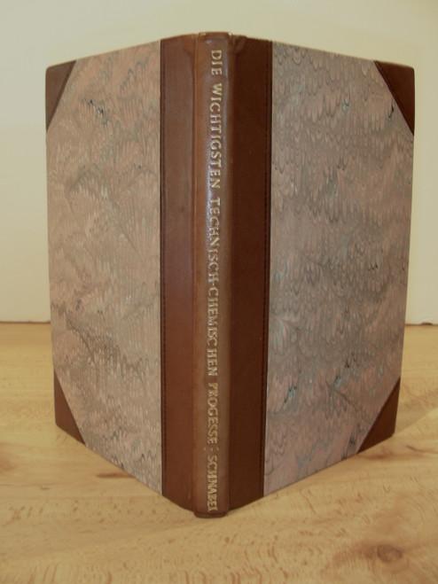 Rare science and metallurgy book, Schnabel, Karl; Die Wichtigsten Technisch-chemischen Processe....In zwei theilen. 1840-1842