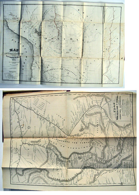 Book by Herndon, Lt. Wm. Lewis & Gibbon, Lardner; Exploration of the Valley of the Amazon.