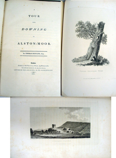 Early Travel Book: Pennant, Thomas; A Tour from Downing to Alston-Moor. London, Wilson & Co, 1801.