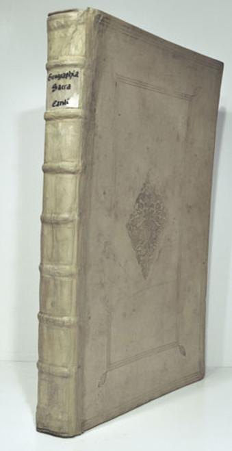 Rare atlas: Vialart De Saint-Paul, Charles, Bishop Of Avranches;  Geographia Sacra 1704