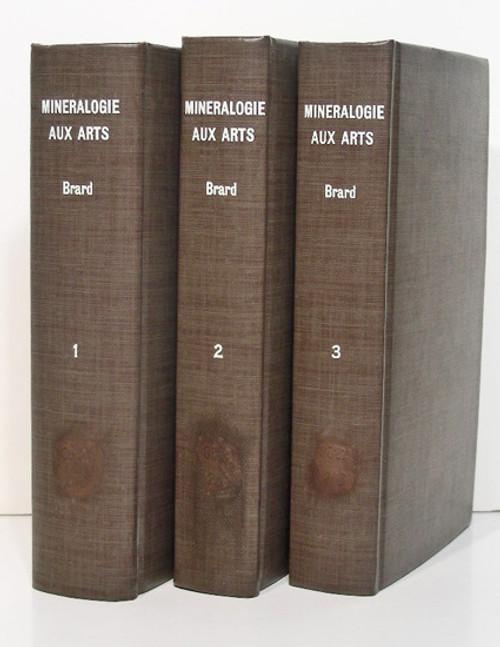 Rare Mineralogy Book: Brard, Cyprien Prosper; Minéralogie appliquée aux arts ou histoire des minéraux..1821