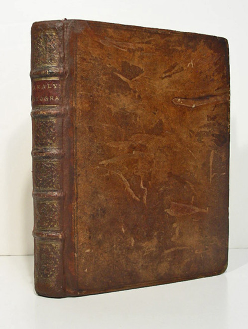Rare Geoscience Book: Jean Baptiste Bourguignon d'Anville; Analyse Geographique de l'Italie. 1744
