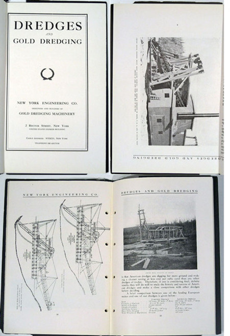 Rare Gold Mining Catalog: New York Engineering Company; Empire Gold Dredges. New York Engineering Co., Designers and Builders of Gold Dredging Equipment. circa 1920