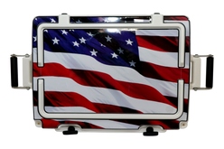 USA Stars & Stripes Adventurer Lid [USA Stars & Stripes]
