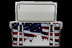 USA Flag Wood Journey Open [USA Flag Wood]