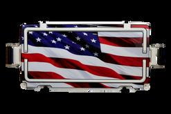 USA Flag Wood Journey Lid [USA Flag Wood]