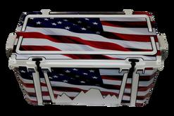 USA Flag Wood Journey Angle [USA Flag Wood]