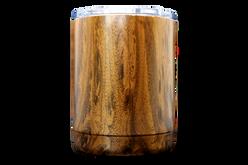 10oz Marble Tumbler Front [Woodgrain]