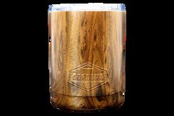 10oz Marble Tumbler Back [Woodgrain]