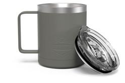 12 oz Charcoal Camp Mug Full [Charcoal]