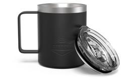 12 oz Black Camp Mug Full [Black]