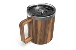 12 oz Woodgrain Camp Mug Iso [Woodgrain]