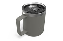 12 oz Charcoal Camp Mug Iso [Charcoal]