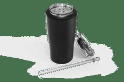 Black Quad Drink Caddy Iso [Black]