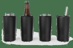 Black Quad Drink Caddy 4 Function [Black]