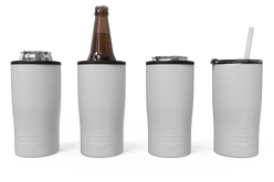 White Quad Drink Caddy 4 Function [White]