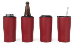 Red Quad Drink Caddy 4 Function[Red]