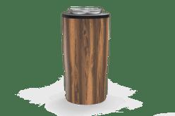 Woodgrain Quad Drink Caddy Back [Woodgrain]