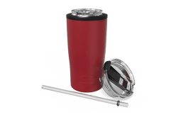 Red Quad Drink Caddy Front [Red]