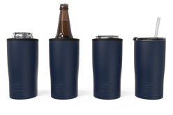 Navy Quad Drink Caddy 4 Function[Navy]