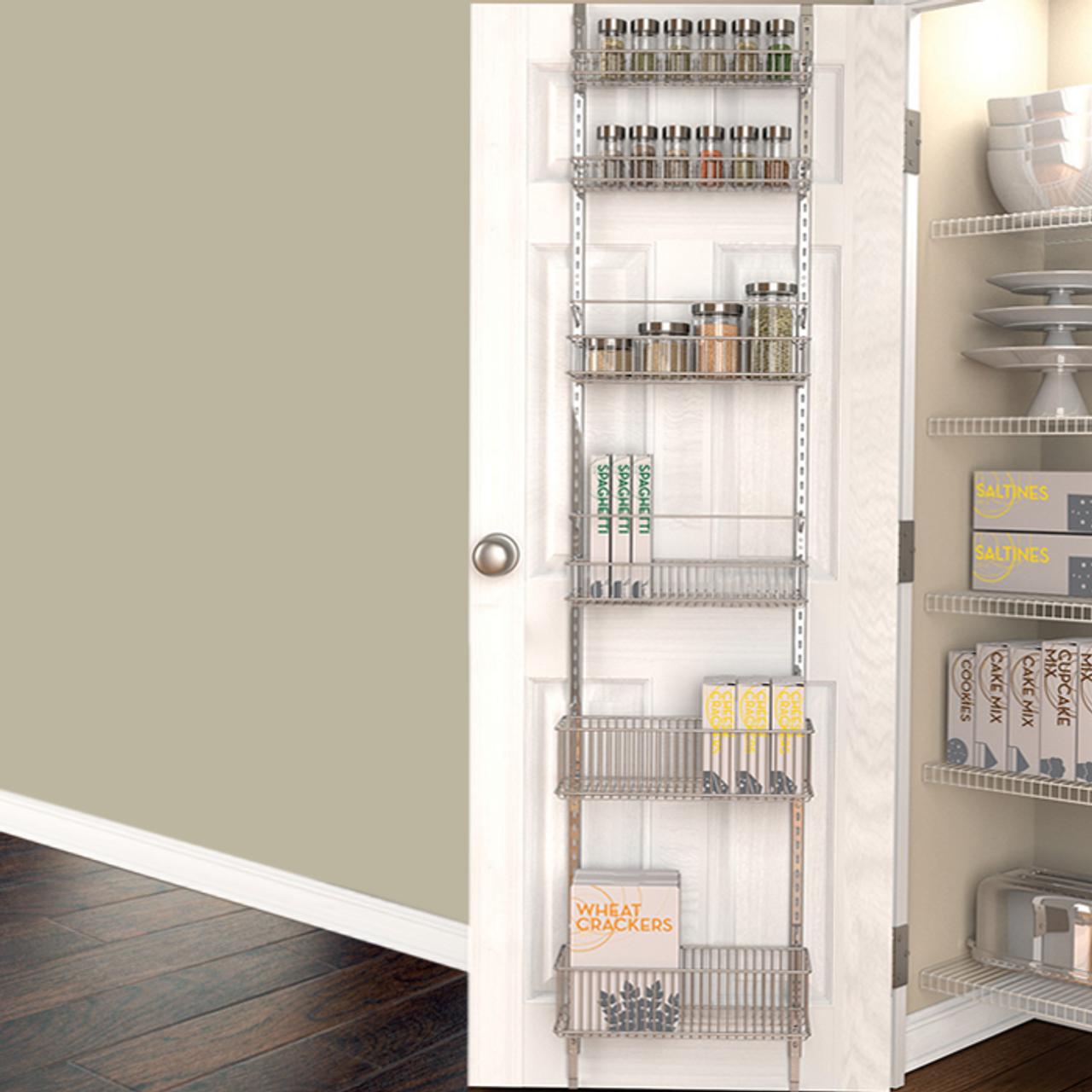 Brilliant Over Door Pantry Organizer Interior Design Ideas Gresisoteloinfo