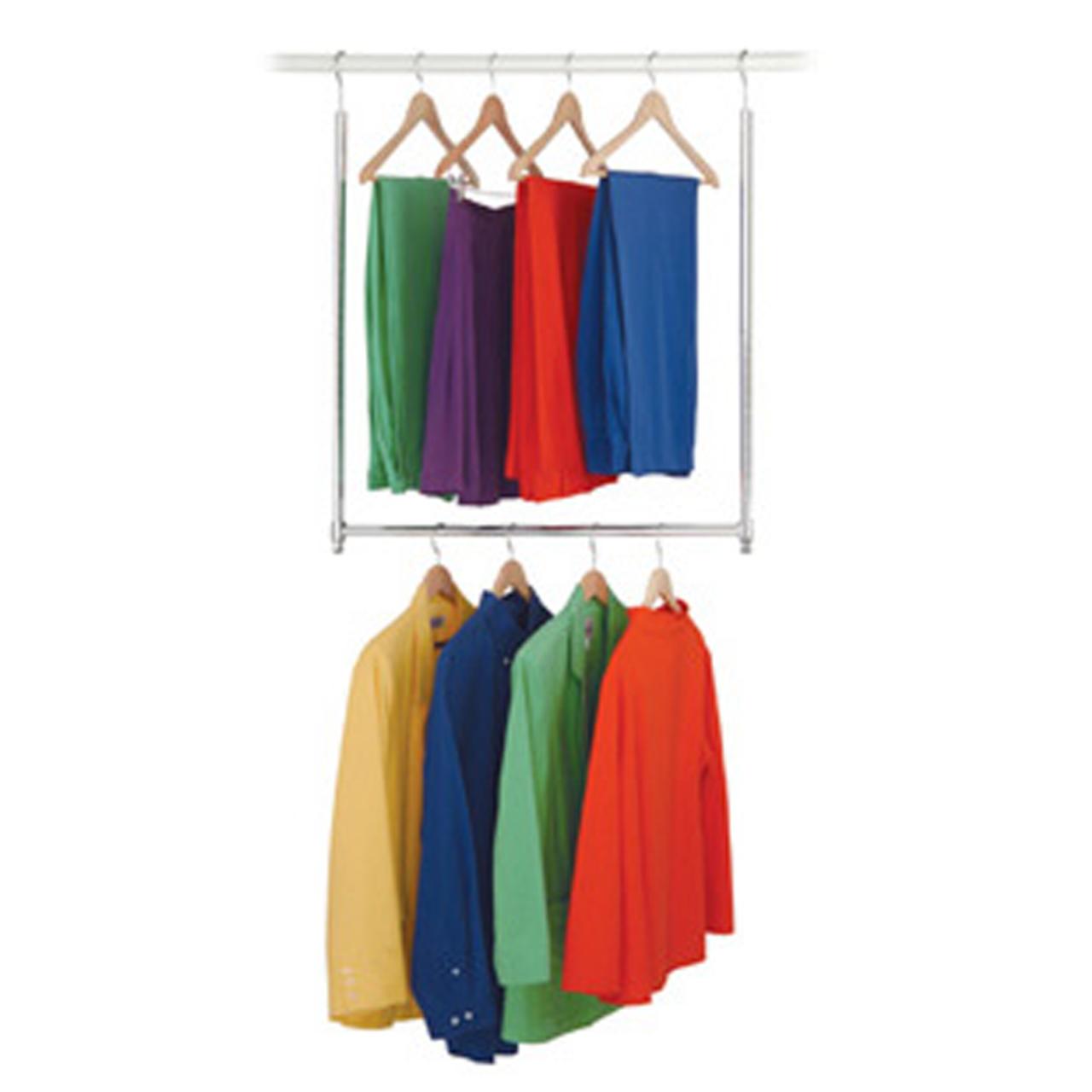 Adjustable Closet Doubler