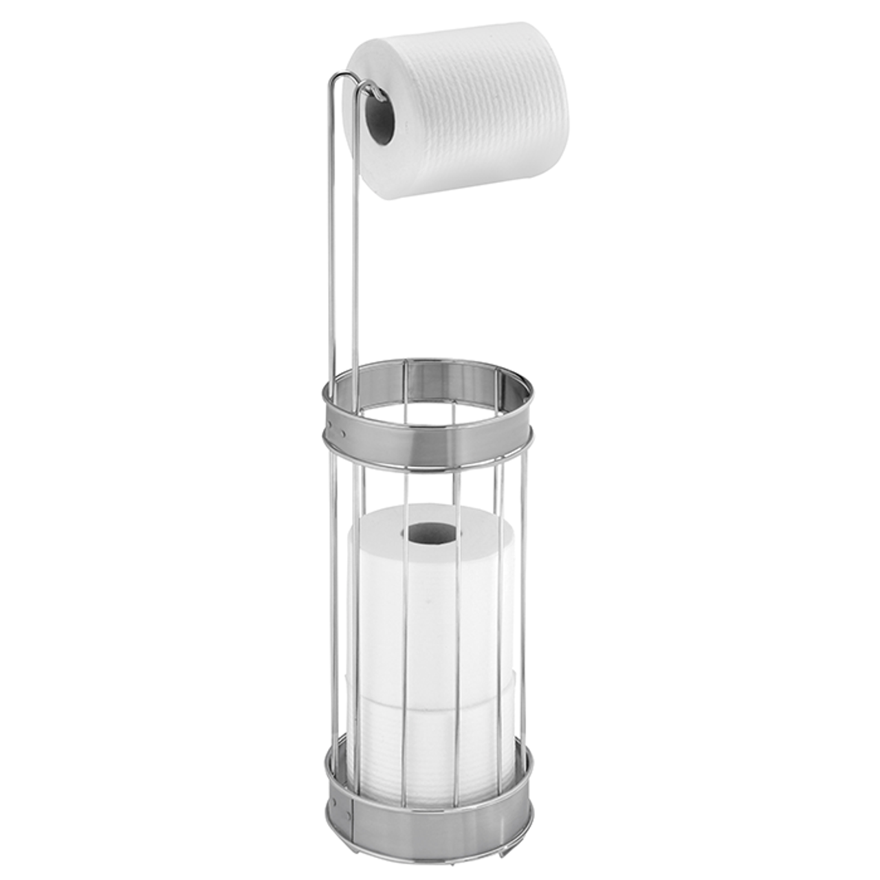 Acrylic Toilet Paper Reserve Dispenser The Container Store