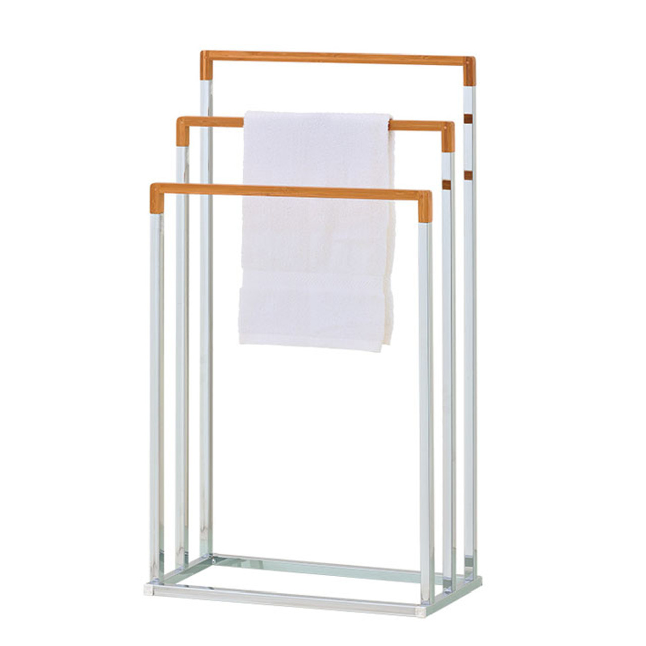Bamboo Towel Stand Solutions Your Organized Living Store