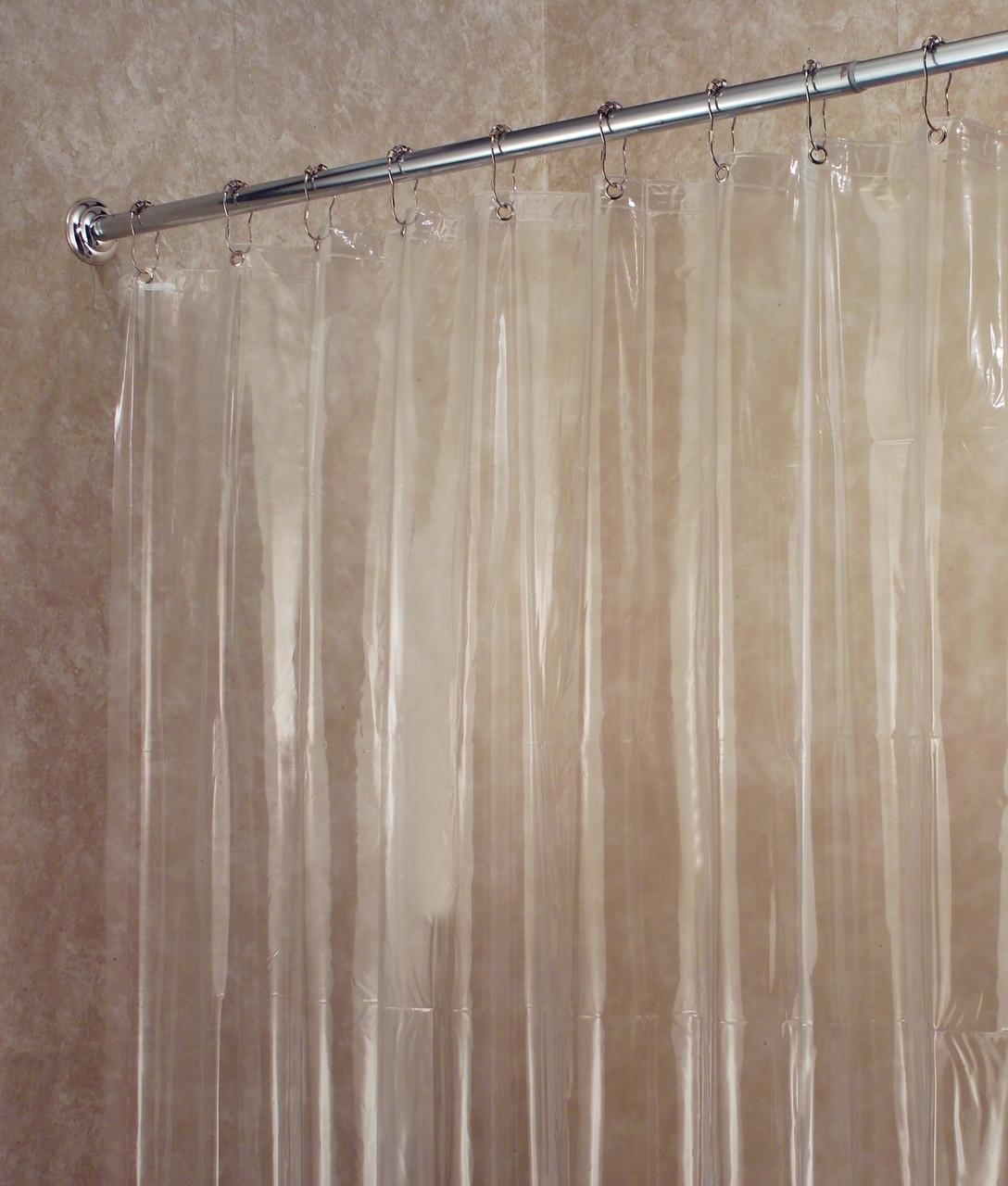 Vinyl Shower Curtain 72x72In