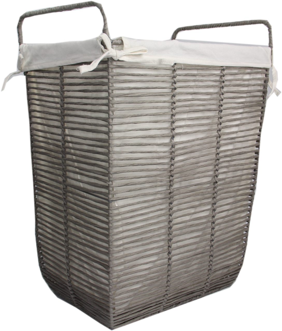 Paper Rope Basket With Liner Medium   Solutions   Your Organized Living  Store