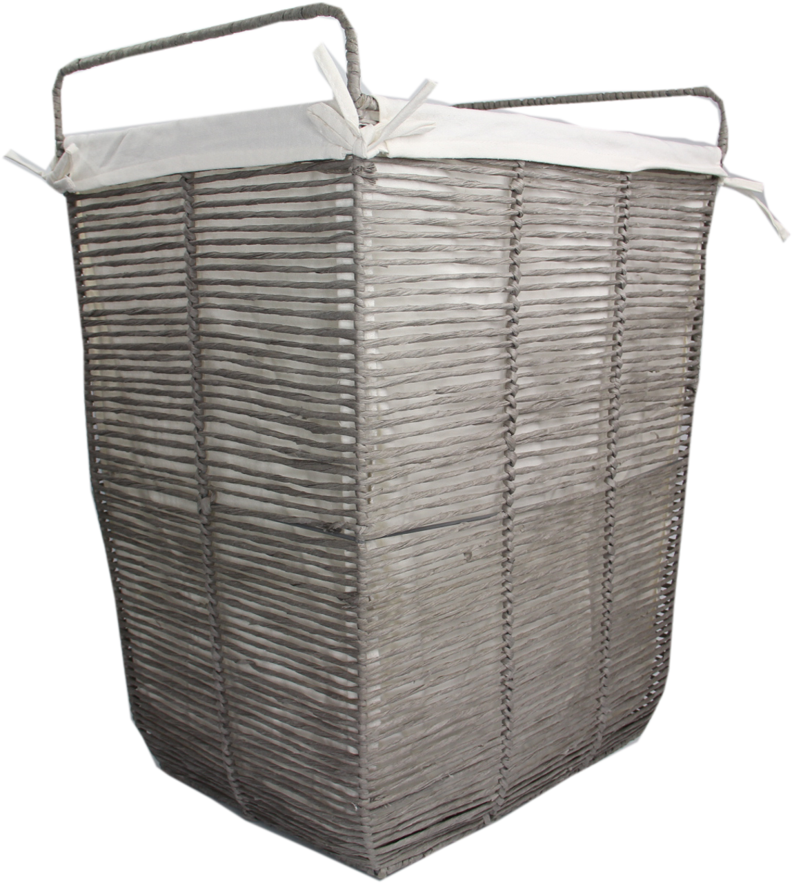 Paper Rope Basket With Liner Large   Solutions   Your Organized Living Store