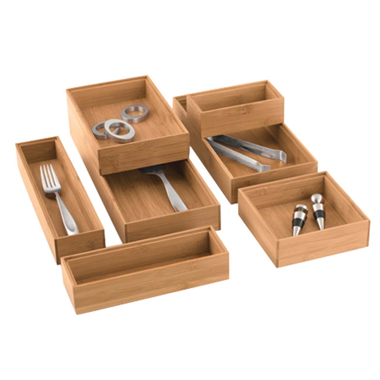Bamboo Drawer Organizers Solutions Your Organized Living Store