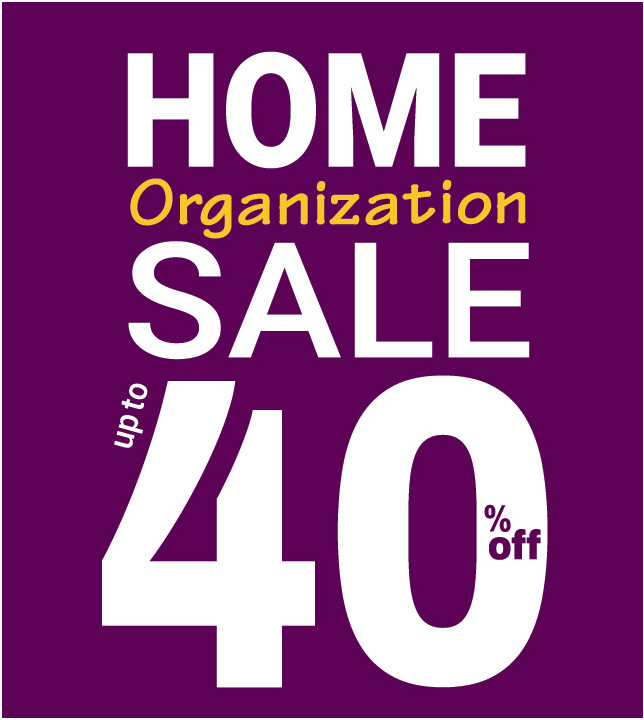 Organized Home Sale 2019