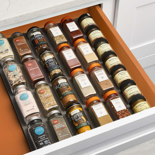 Spiceliner Drawer Spice Rack Solutions Your Organized