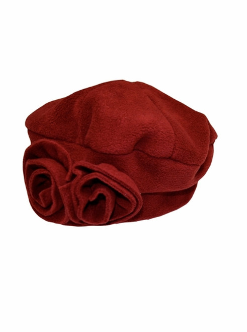Essential Red Polar Fleece Hat