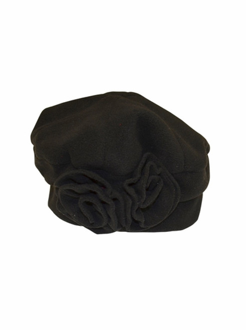 Essential Black Polar Fleece Hat