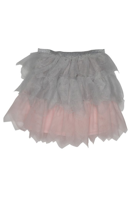 Sporty Sparkle Netting Skirt