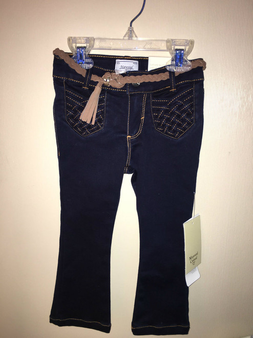 Toddler dark denim jeans