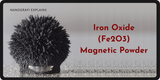 Iron Oxide Fe2O3 Magnetic Powder
