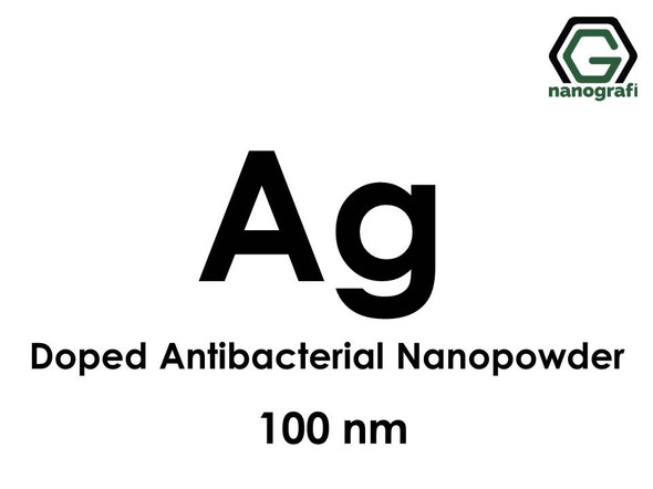 Silver (Ag) Doped Antibacterial Nanopowder/Nanoparticles, Size: 100 nm- NG04EO0112