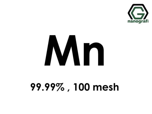 Mn(Manganese) Micron Powder,100 Mesh, 99.99 %