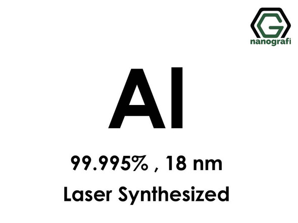 Aluminum (Al) Nanopowder/Nanoparticles, Purity: 99.995%, Size: 18 nm, Laser Synthesized- NG04EO0205