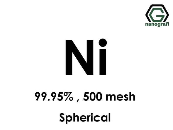 Ni(Nickel) Micron Powder(Spherical), 500 Mesh, 99.95 %
